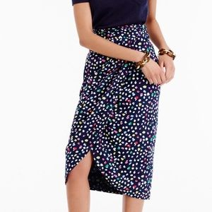 J. Crew Skirts - J. Crew Ratti Happy Cat Tulip Skirt